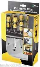 Wera herramienta kraftform 932/6 chiseldriver impacto Jefe de destornilladores Phillips Plana