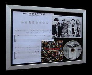 STONE-ROSES-Ten-Storey-LTD-Nod-CD-MUSIC-FRAMED-DISPLAY