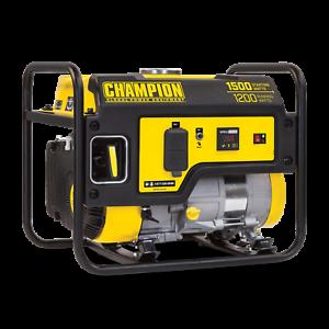 100403- 1200/1500w Champion Generator, manual start