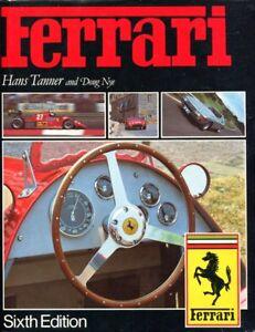 The-Ferrari-by-Hans-Tanner-amp-Nye-6th-Edition-1985-classic-Ferrari-book