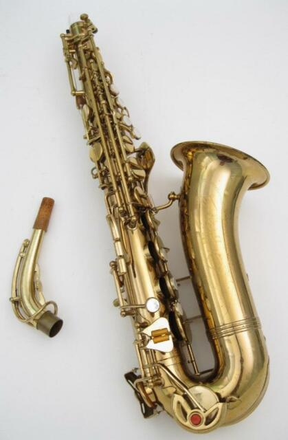 Vintage LeBlanc Vito Alto Saxophone New Pads Excellent Condition Ready to Play