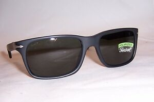 b07c260378 NEW Persol Sunglasses 3048 S PO 900058 BLACK GRAY POLARIZED 58mm ...