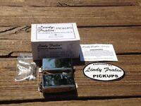 Lindy Fralin BIG SINGLE Pickup Set NICKEL Covers Humbucker Sized Perfection
