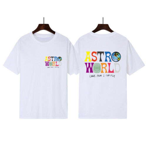 Astroworld T Shirt Travis Scott Supreme Concert Tour White Merch Wish Were Here