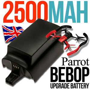 1-X-BIG-Upgrade-Battery-2500mAh-for-Parrot-BEBOP-Drone-Quadcopter