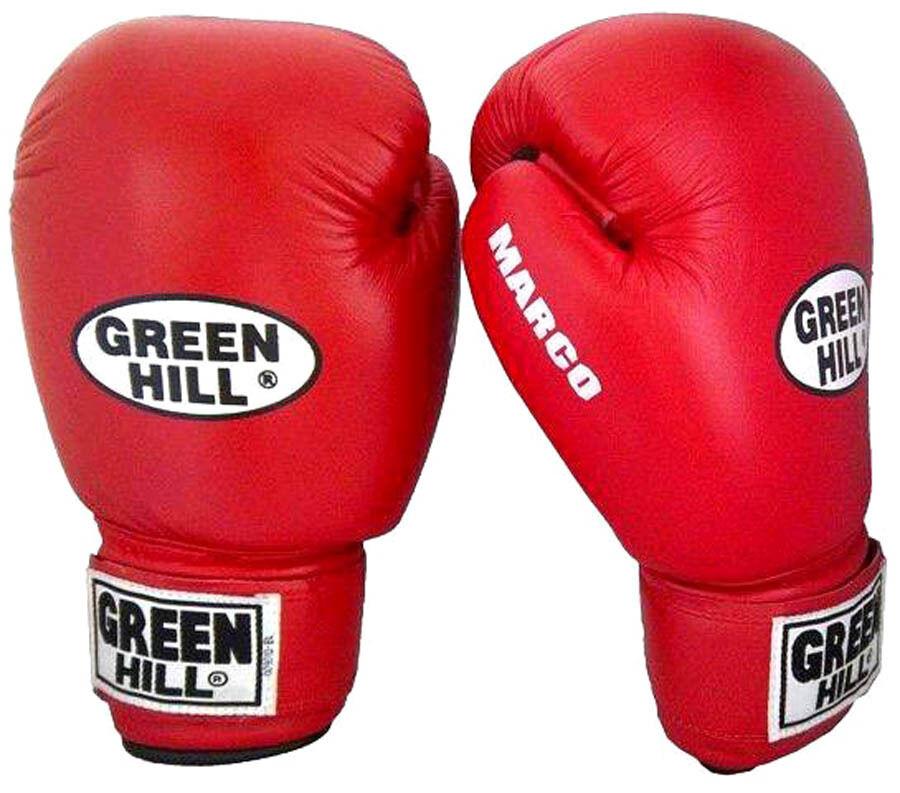 Grünhill Boxing Leder Boxing Grünhill Gloves Marco Training Bag Pad Upper Heavy Punches 14 Oz 2820c6