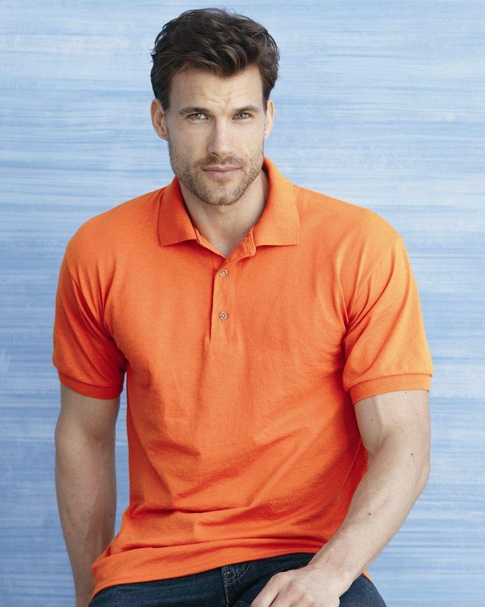 15 Blank Gildan DryBlend Jersey Polo 8800 Bulk Wholesale ok to mix S-XL & colors