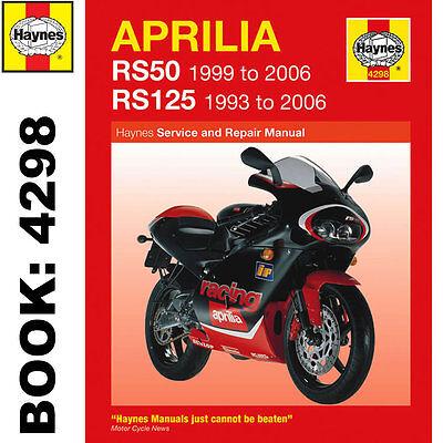 Aprilia RS50 1999-2006 RS125 1993-2006 Haynes Workshop Manual