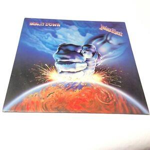 Judas-Priest-Ram-It-Down-039-1988-UK-Vinyl-LP-EX-VG-Very-Clean-Vinyl
