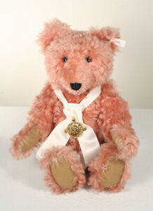 STEIFF-Teddy-Bear-COMPASS-ROSE-17-inches-Mohair-5-way-jointed-NRFB-STORE-NEW