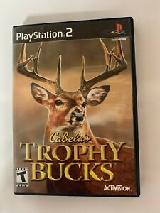 Trophy Buck Play Station 2 Used Game With Booklet A12