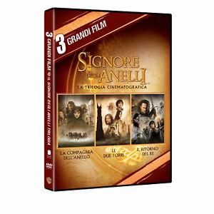 Dvd-Il-Signore-degli-Anelli-La-Trilogia-3-Film-Dvd-NUOVO