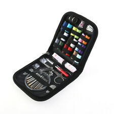 58Pcs Home Travel Thread Threader Needle Tape Measure Scissor Sewing Kit