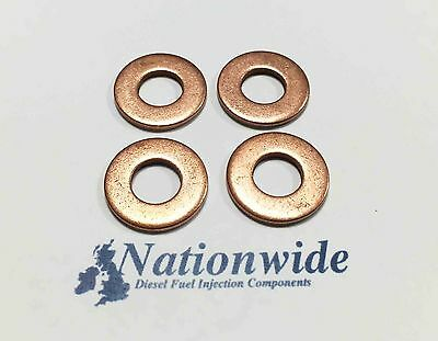 FORD FOCUS C-MAX 1.8 TDCi SIEMENS COMMON RAIL DIESEL INJECTOR COPPER WASHER
