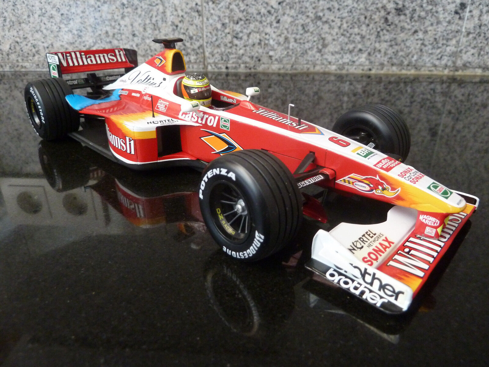 1 18 Minichamps, Williams FW21, R. Schumacher, Carart