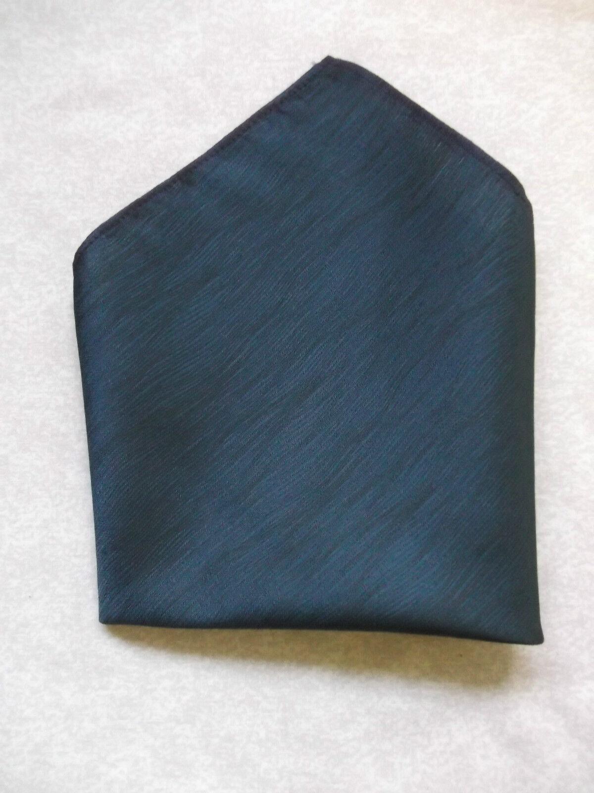 Handkerchief MENS Hankie Top Pocket Square Wedding Fashion Party NAVY BLUE