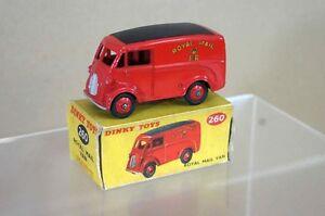 Dinky 260 Morris Royal Mail Van En Boîte Mt