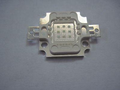 5 pieces 40mil 10W COB  Royal Blue LED Panel for Aquarium  D.I.Y.