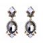 1Pair-Elegant-Women-White-Resin-Gray-Crystal-Ear-Stud-Eardrop-Earring-Jewelry thumbnail 1