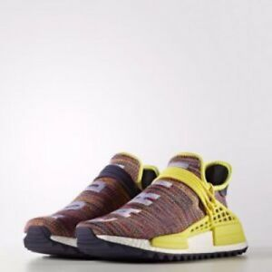 sports shoes 556f1 85b8b Details about ADIDAS ORIGINALS PHARRELL WILLIAMS HUMAN RACE Multi NOBLE INK  Size 8 F/S