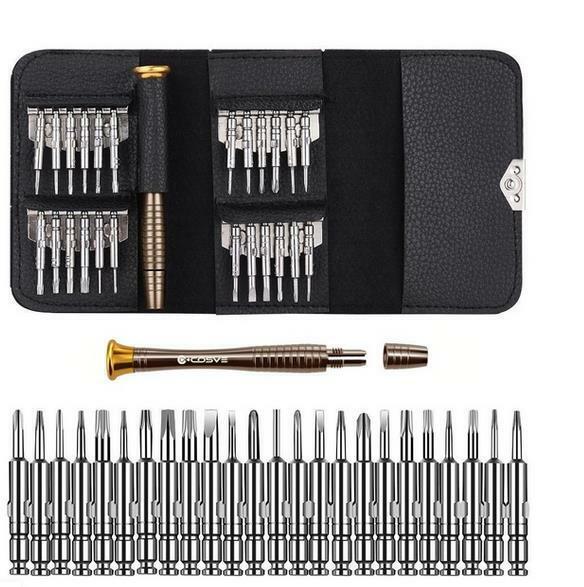 25pcs Pen Screwdriver Kits Magnetic Multi-Bits Repair Tool Set Torx Precision