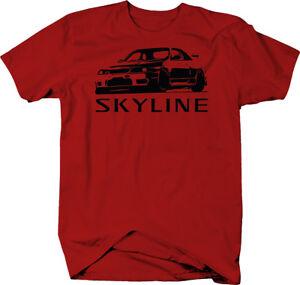 Nissan-Skyline-R34-AWD-Turbo-JDM-GTR-Color-T-Shirt