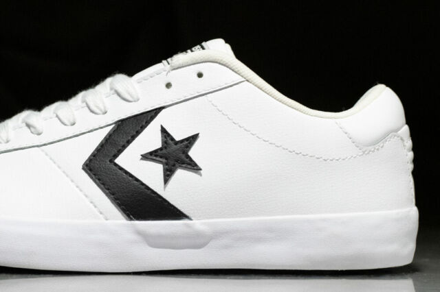 skate shoes genuine shoes super popular CONVERSE POINT STAR OX leather shoes for men, NEW & AUTHENTIC, size 8