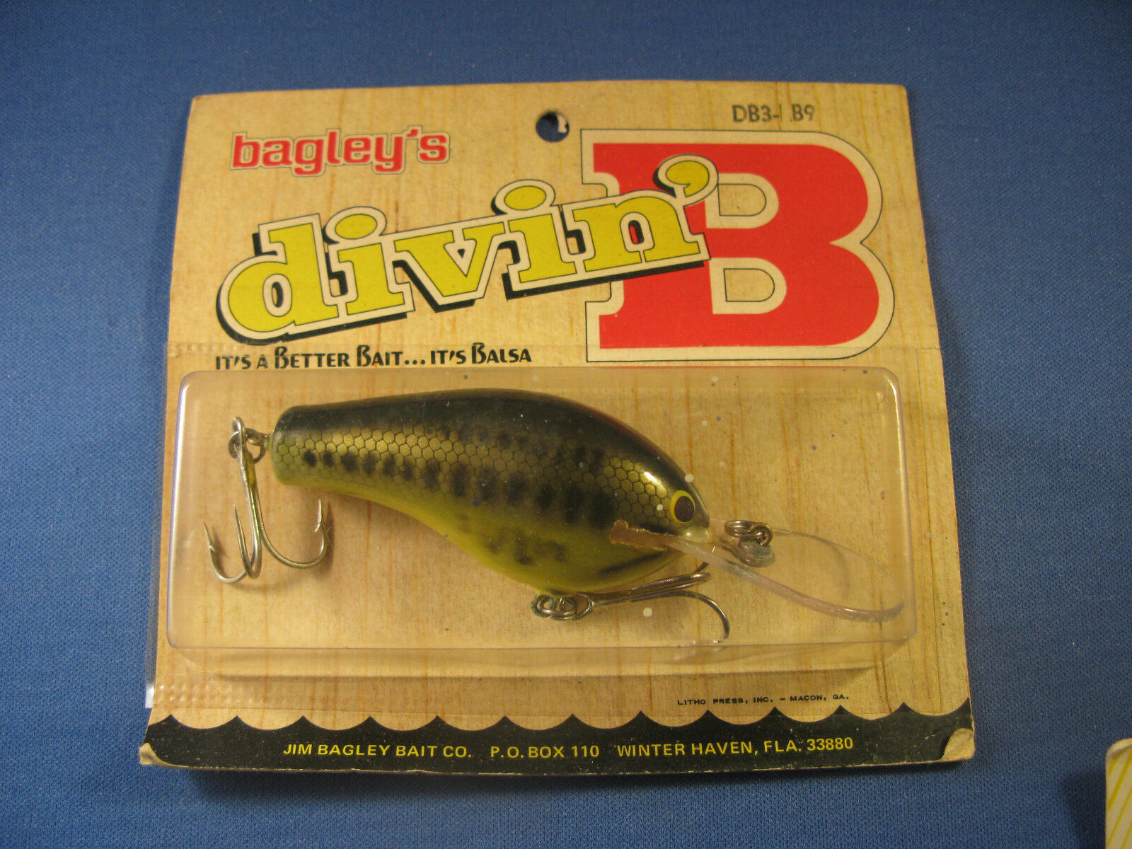 BAGLEY  DIVING    B 3   FISHING LURE   LB9   (1)  hottest new styles