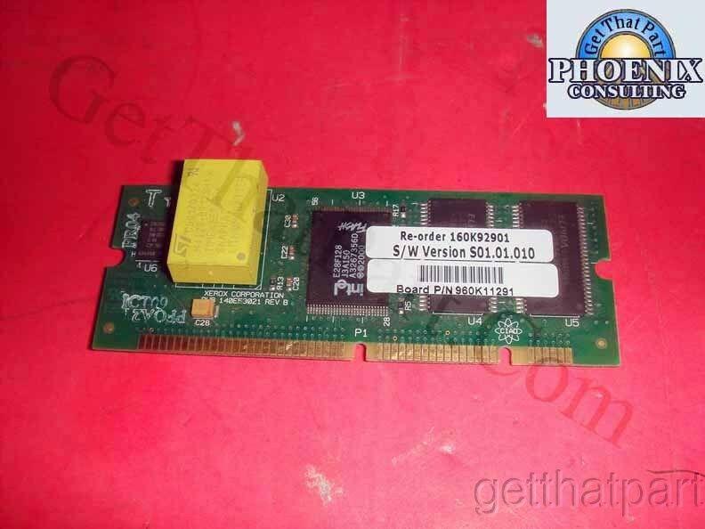 Xerox 160K92901 WC Pro C40 NVM Pwb Firmware Board