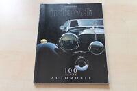 77375) Mercedes - 100 Jahre Automobil Spezial - in aller Welt Nr.199 01/1986