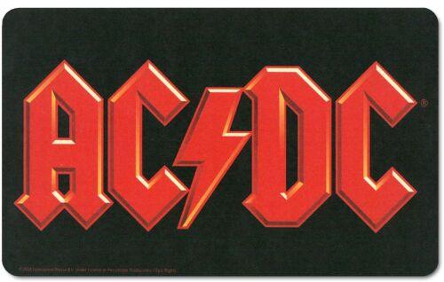 lsh AC//DC Logo Single Chopping Board// Placemat 240mm x 140mm