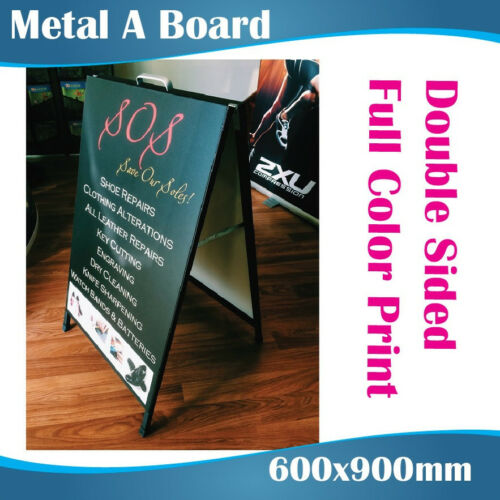 Double Sided Colorbond ABoardAFrame 600x900 with Printing
