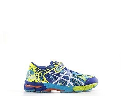 Flight Tracker Scarpe Asics Bambini Sneakers Trendy Blu Pu,tessuto C604n-0701s