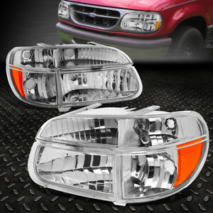 Image Is Loading For 1995 2001 Ford Explorer Pair Chrome Housing