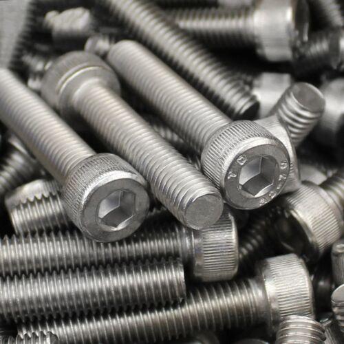 Stainless Steel DIN912 Allen Bolt Socket Cap Screws Hex Head M2 A2 304