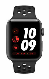 Apple Watch Nike+ 42mm Space Gray Aluminium Case with Anthracite/Black Nike  Sport Band (GPS) - (MQL42LL/A)