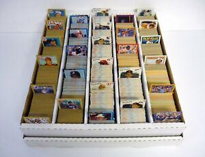 HUGE-LOT-OF-5-000-BASEBALL-CARDS-2-Donruss-Fleer-Score-BOX-INCLUDED-1987-1988
