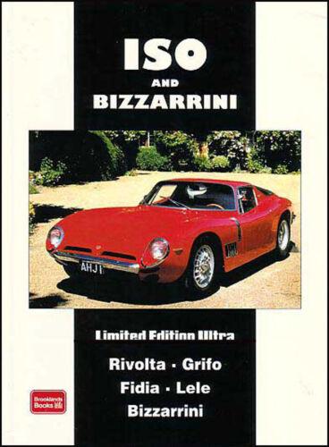 ISO BIZZARRINI RIVOLTA BOOK GIOTTO CARS PORTFOLIO BROOKLANDS