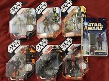 Star Wars 30th Anniversary Saga Legends Droid Droids New Lot