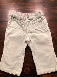 cb2eafec92a Baby Gap Toddler Girls Light Green With Sparkles Corduroy Pants 12 ...