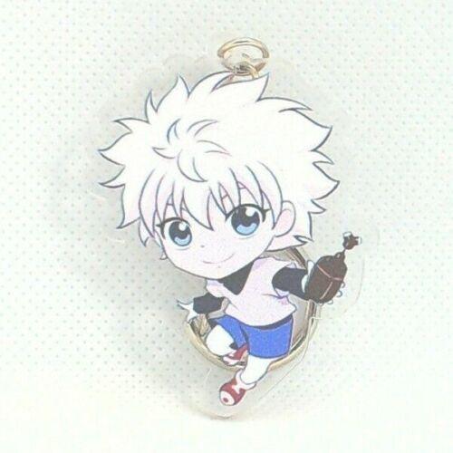 """2/"""" Killua Zoldyck HxH Hunter x Hunter Keychain Anime Japan 799"""