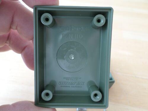 "Lot of 4 Electronic Plastic Project Box Enclosure Unibox 110 2.75/"" x 2/"" x 1.38/"""
