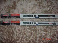 2 x Powerfix Forte magnetico Strumento strisce Spanner etc titolare per Garage Officina
