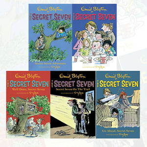 Secret-Seven-Collection-1-to-5-books-Set-By-Enid-blyton