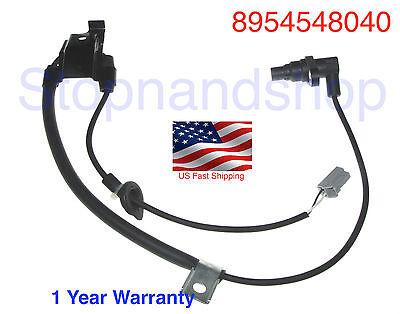 Fits Toyota Highlander 08-13 AWD 89545-48040 ABS Wheel Speed Sensor Rear Right