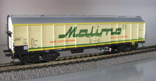 """Brawa 47271 gedeckter Güterwagen /""""Malimo/"""" der DR Epoche IV NEUWARE mit OVP"""