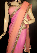 KC Saree Latest Bollywood Shaded Diffrent Style Designer Sari Border On Sale