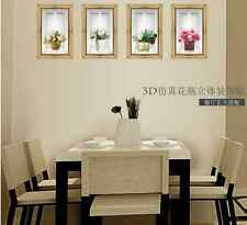 Removable 3D Flower Vase Wall Sticker Home Decal Living Room Porch Decor  Mural Part 71