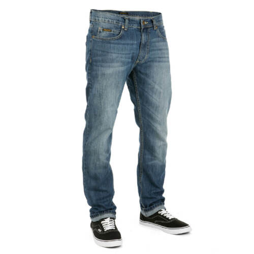 Sequence Jeans Pantaloni DRIFT Pant Mid Blue Denim-SLIM TAPERED FIT