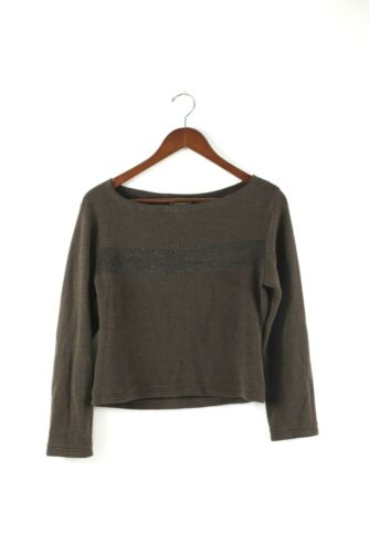 Fendi Zucca Womens Size Small Brown Sweater Vintag